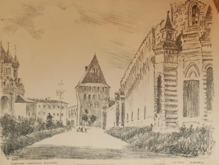 Ярославль. Спасский монастырь