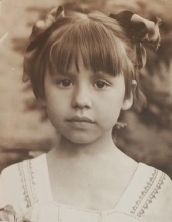 дочь Ольга. 1957