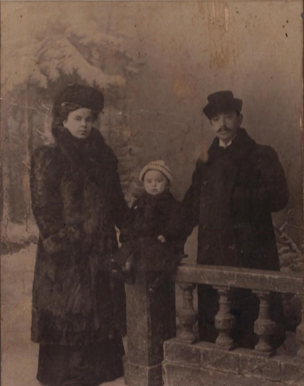 12 октября 1911. Николай с родителями