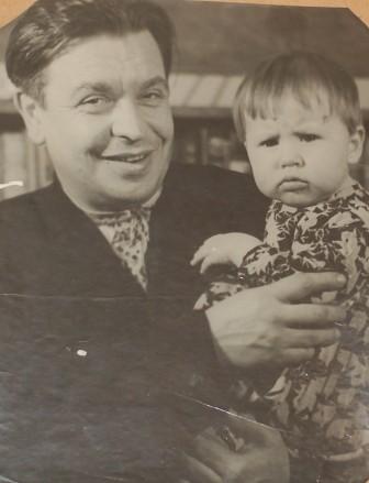 с дочерью Ольгой