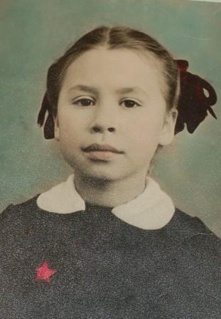 дочь Ольга. 1958