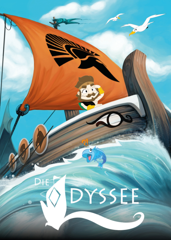 Coverentwurf - Odysseus: Interaktive Graphic Novel für das iPad
