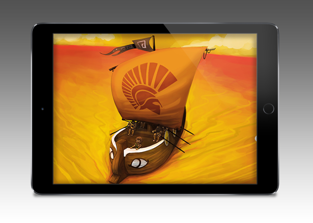 Screenshot - Odysseus: Interaktive Graphic Novel für das iPad