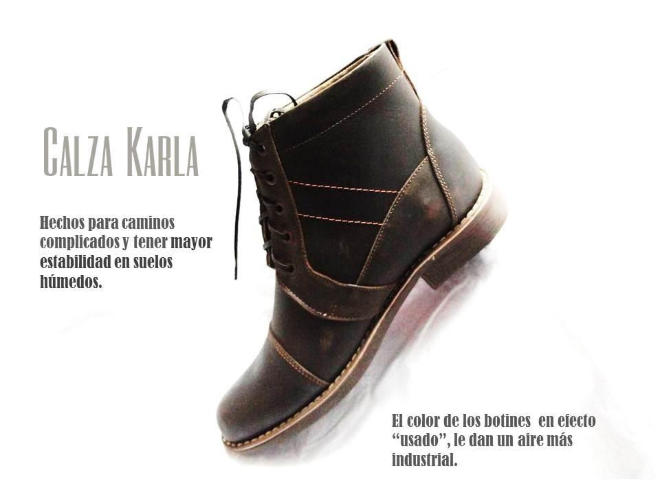 4e727a20878 botín de piel - Estilo Chukka boots. botín de piel - Estilo Chukka boots.  Estilo casual para motociclistas