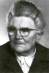Clara Pfeiffer im Alter von 80 Jahren