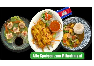 Gesunde Gerichte aus Thailand, frisch und glutamatfrei gekocht.