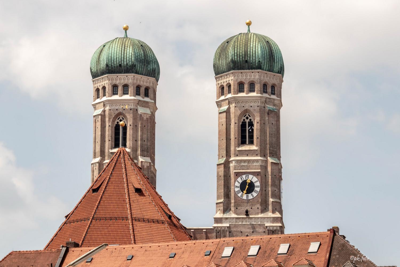 Münchener Frauenkirche - 1488 fertiggestellt