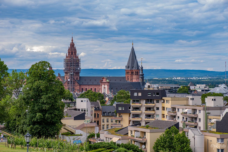 Mainzer Dom St. Martin aus dem 11. Jahrhundert