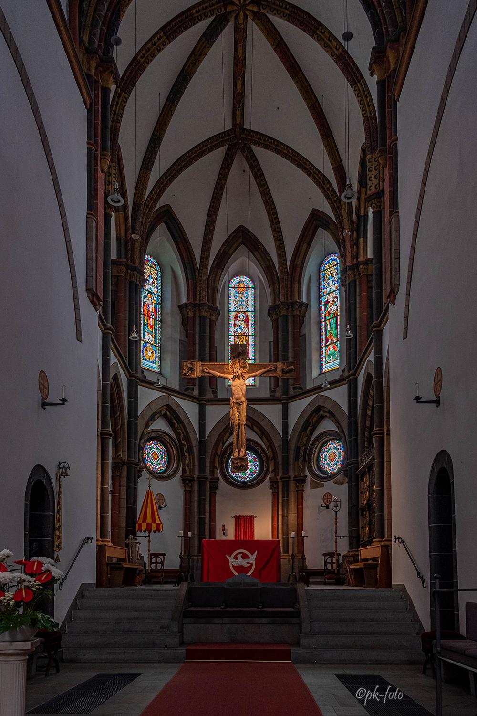 St. Severus in Boppard aus dem 12.-13. Jahrhundert