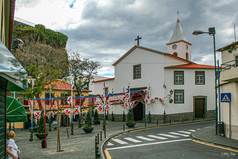 Matriz de São Sebastião in Câmara de Lobos - Madeira