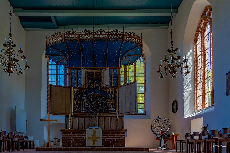 St. Ansgari Kirche in Hage aus dem 13. Jahrhundert