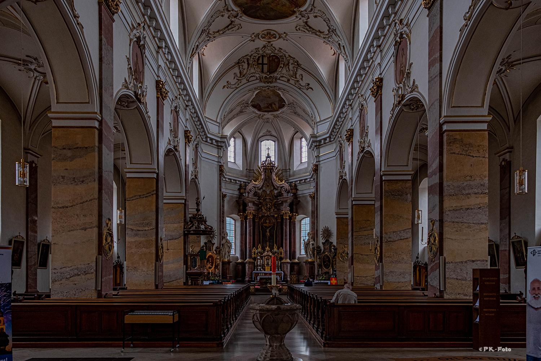 St. Blasius, kath. Stadtpfarrkirche zu Fulda - 1771-1785 erbaut