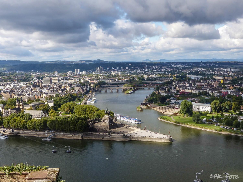 Deutsches Eck Mosel / Rhein