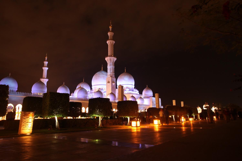 Scheich-Zayid Moschee Abu Dhabi - 1996