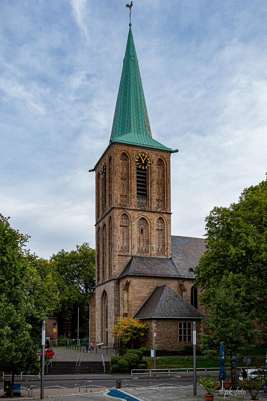 Bochumer Propsteikirche St. Peter und Paul - 1547 nach einem Brand wieder aufgebaut