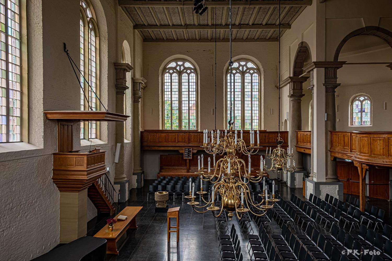 Neue Kirche Emden - 1643-1648 - dient heute vor allem als Konzertkirche