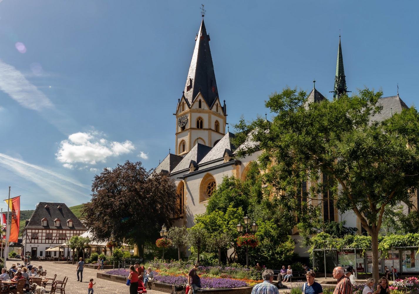 St. Laurentius in Ahrweiler - Grundsteinlegung 1269