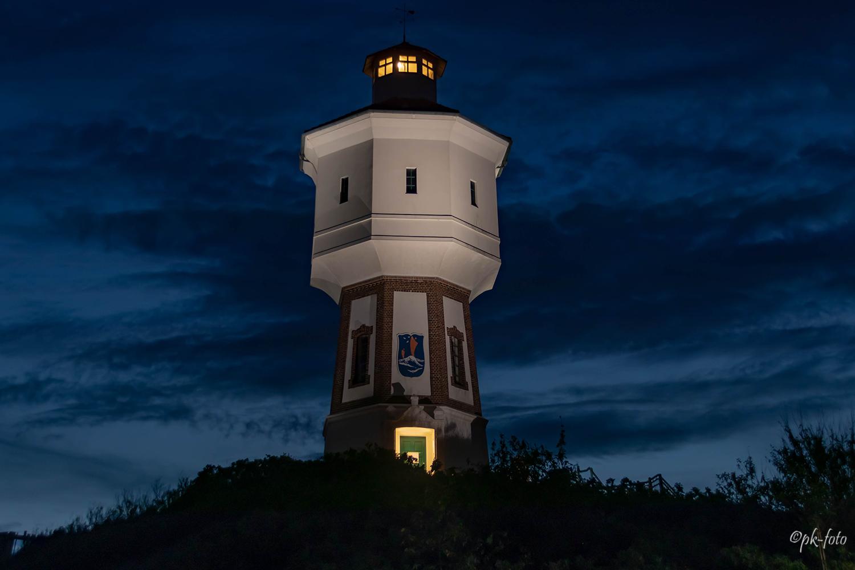 Langeooger Wasserturm im September 2018
