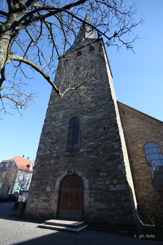 St. Georg Hattingen erbaut um 1200