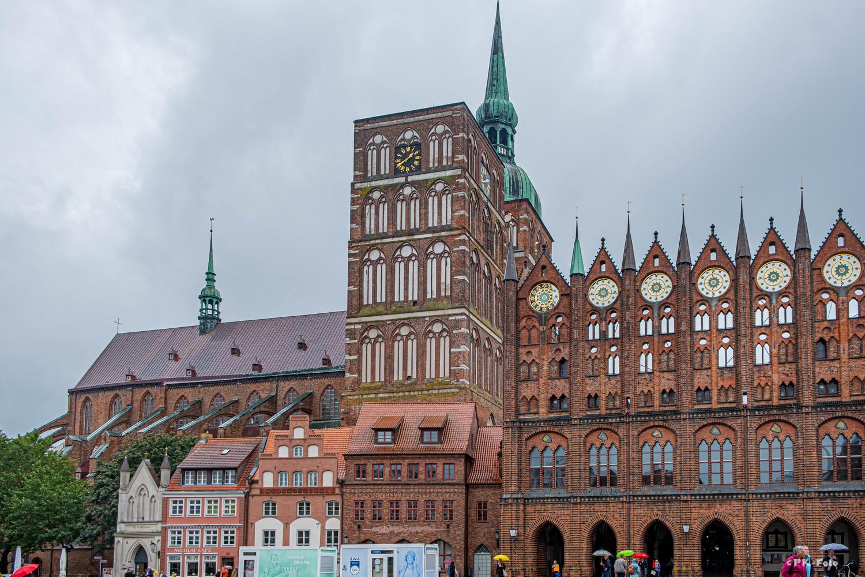 St.Nikolai-Kirche von Stralsund - erstmals 1276 erwähnt