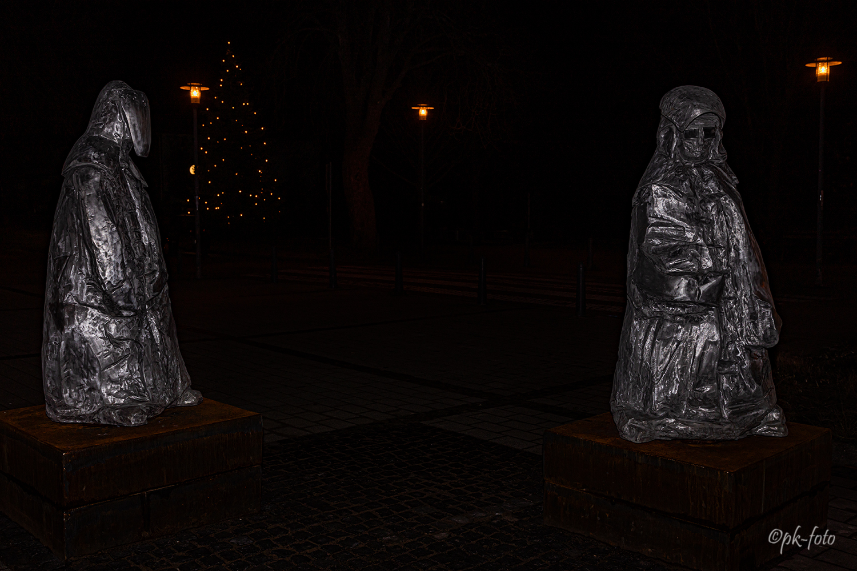 Welperaner Gießer/Schmelzer. Das Wahrzeichen des Hattinger Ortsteils Welper. Enthüllung am 18.12.2019 um 10:30 Uhr