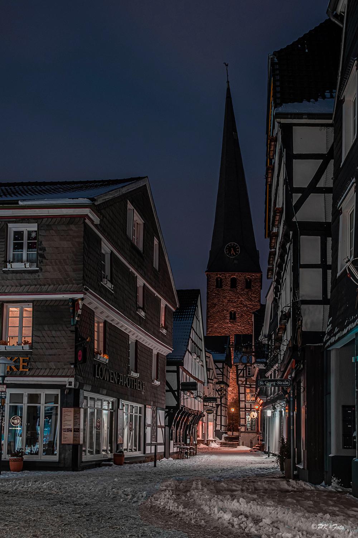 Steinhagen in Hattinger - der Fotopunkt der Altstadt