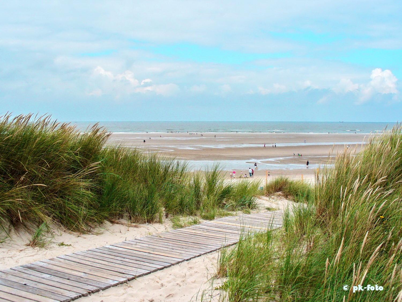 Strandweg auf Langeoog