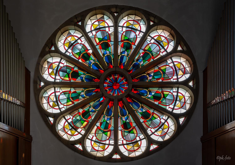 Kunstkirche Christ-König in Bochum von 1931 - eine ehemalige Franziskanerkirche