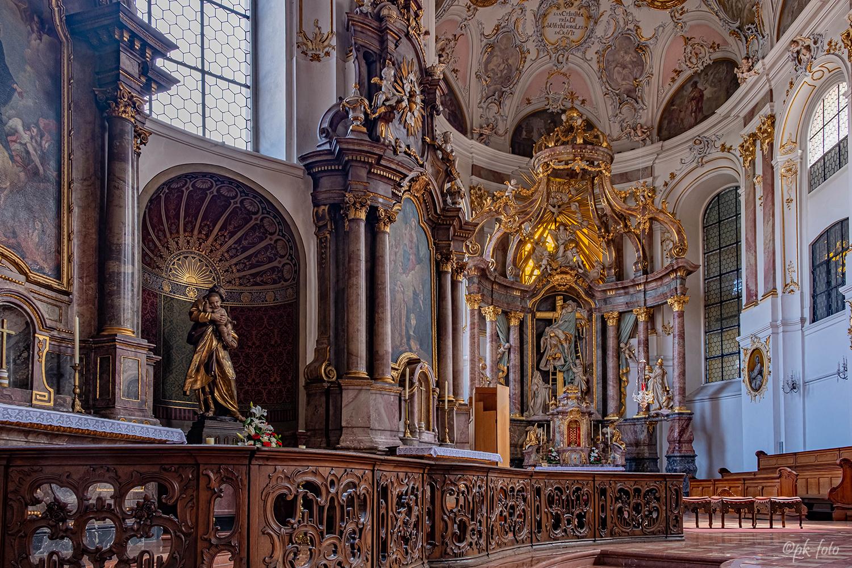 Augustinerkirchen in Mainz von 1768-1771 erbaut