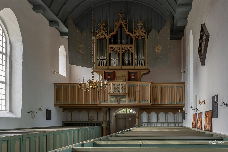 die älteste noch bespielbare und im Grundbestand erhaltene Orgel Nordeuropas aus dem Jahr 1457