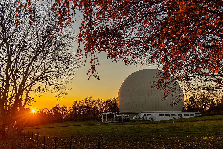 Sternwarte Bochum - im Volksmund Kap Kaminski genannt. 1946 durch Heinz Kaminski gegründet
