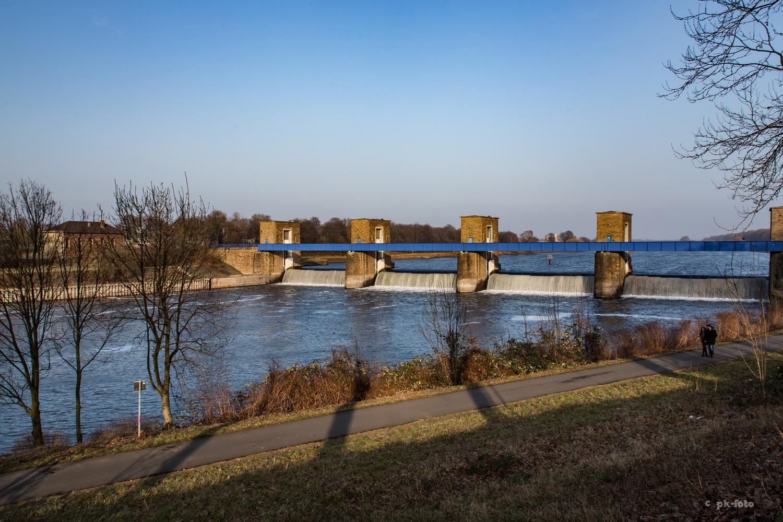Ruhrschleuse in Duisburg