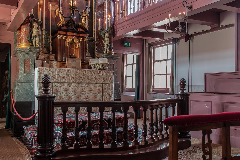 Ons'Lieve Heer Op Solder - Amsterdam 1661-1663 umgebaut