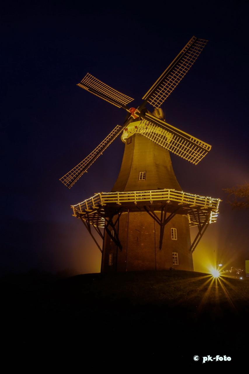 Grüne Mühle in Greetsiel von 1856