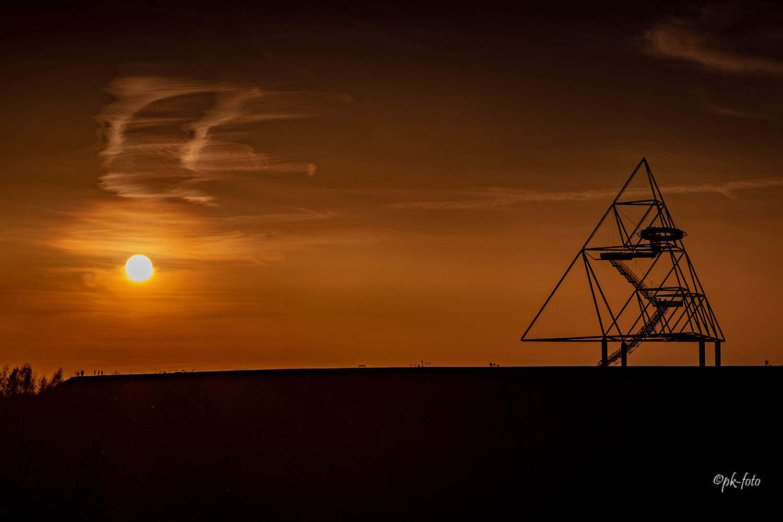 Sonnenuntergang am Tetraeder
