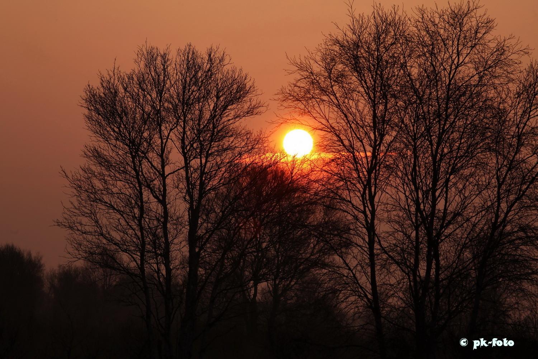 Sonnenaufgang am Ewigen Meer