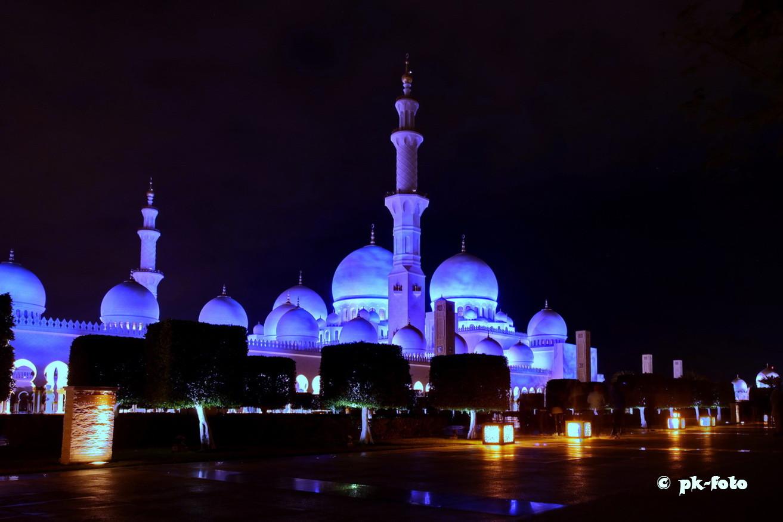 Scheich Zayed-Mosche in Abu Dabi