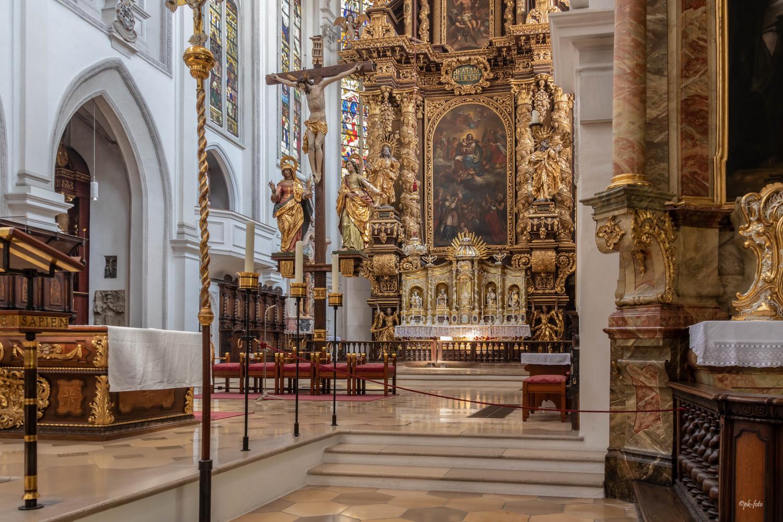 Stadtpfarrkirche Mariä Himmelfahrt in Landsberg am Lech von 1458 (Baubeginn)