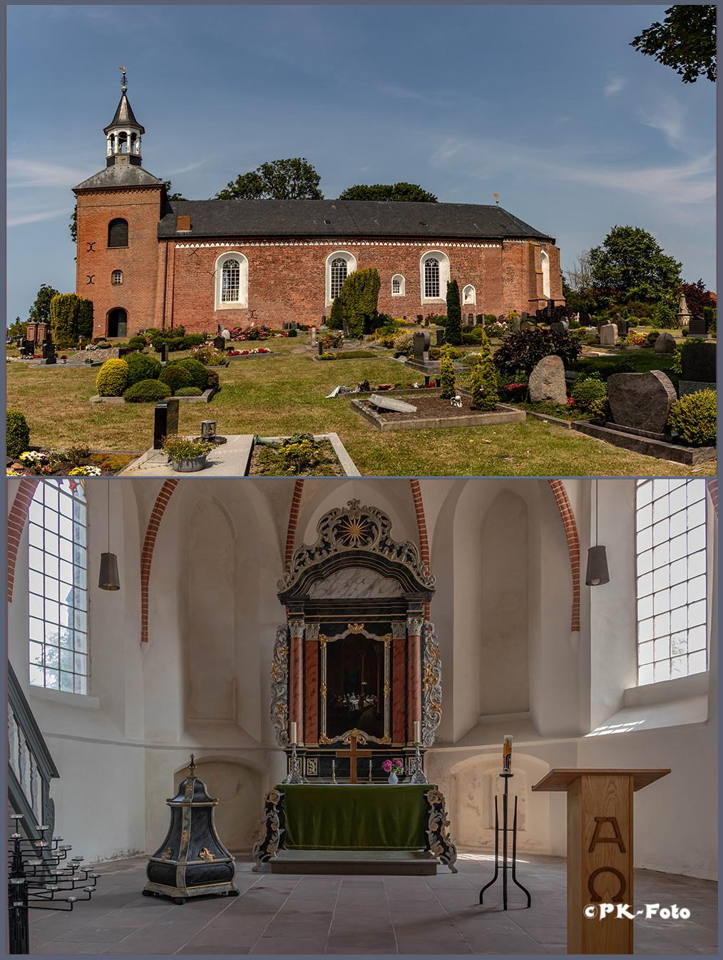 Werdumer St. Nicolai-Kirche von 1327
