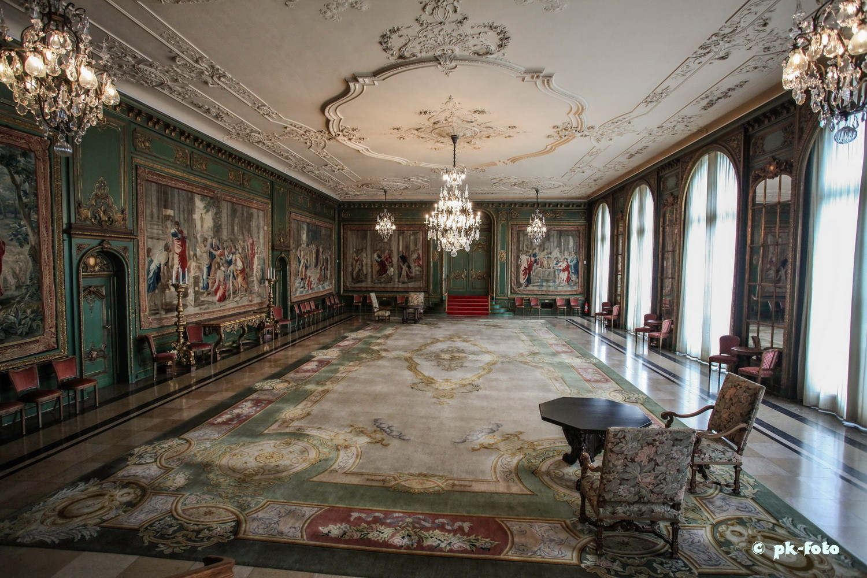 großer Saal Villa Hügel in Essen
