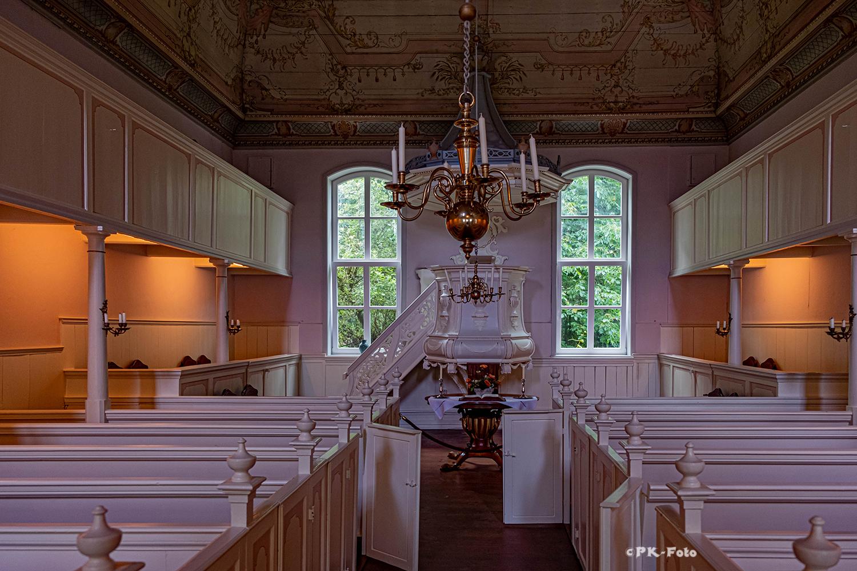 Menonitenkirche in Norden, seit 1795 als Menonitenkirche. Erbaut 1662 als Privathaus
