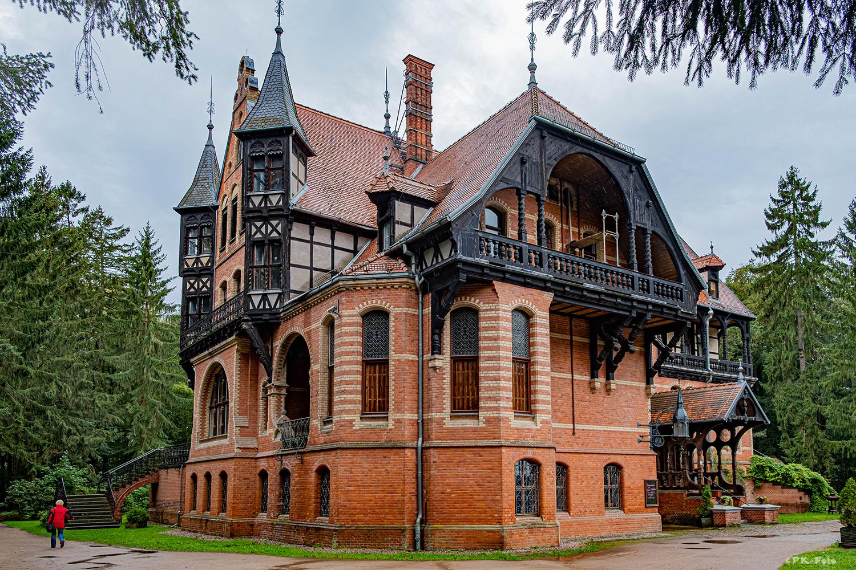 Jagdschloss Gelbensande in Mecklenburg-Vorpommern