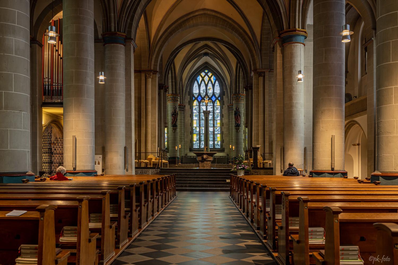Essener Münster - Bischofskirche des Bistums Essen aus dem 13. Jahrhundert