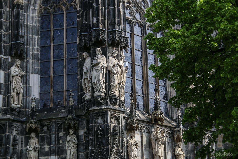 Aachener Mariendom - Bauzeit 795-803