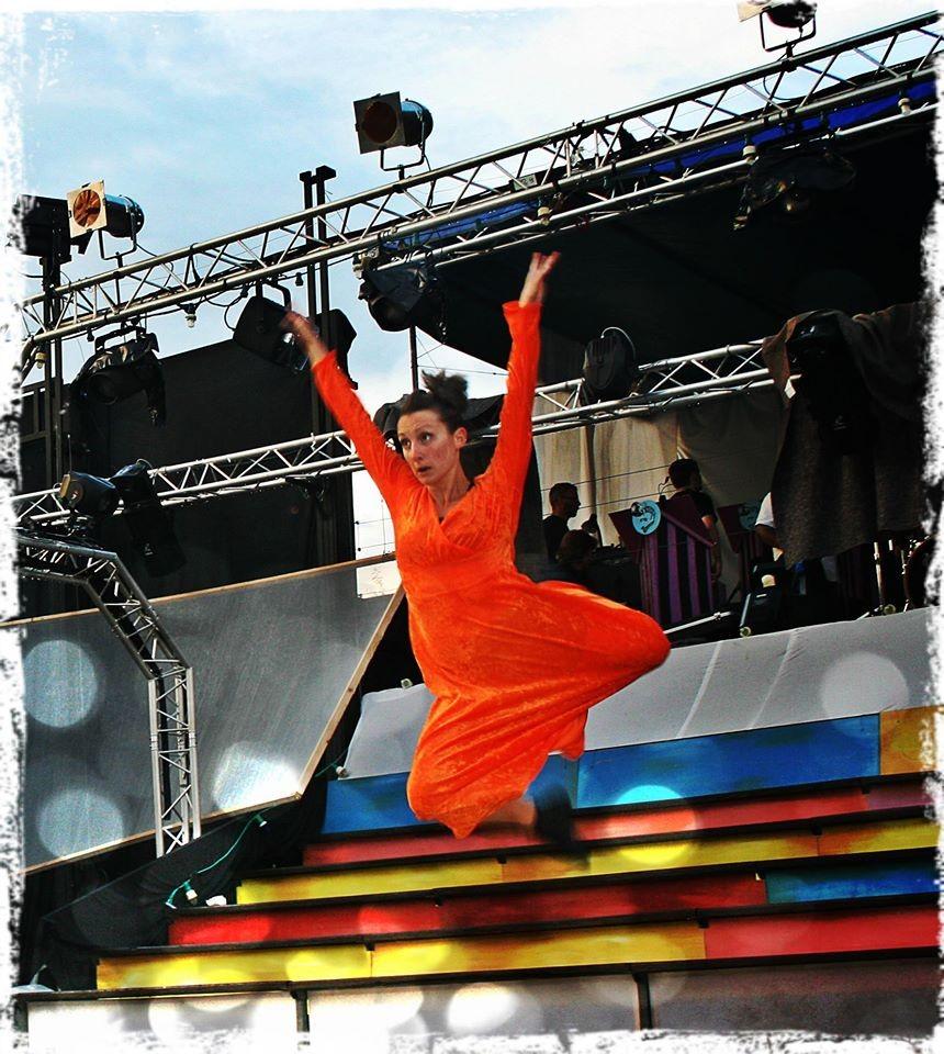 Robe en stretch première partie du spectacle Grease 2014 ASCM - Nathalie Navarro Créations