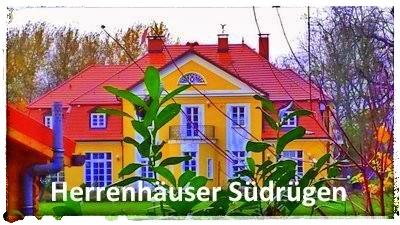 Guts- und Herrenhäuser im Süden der Insel Rügen