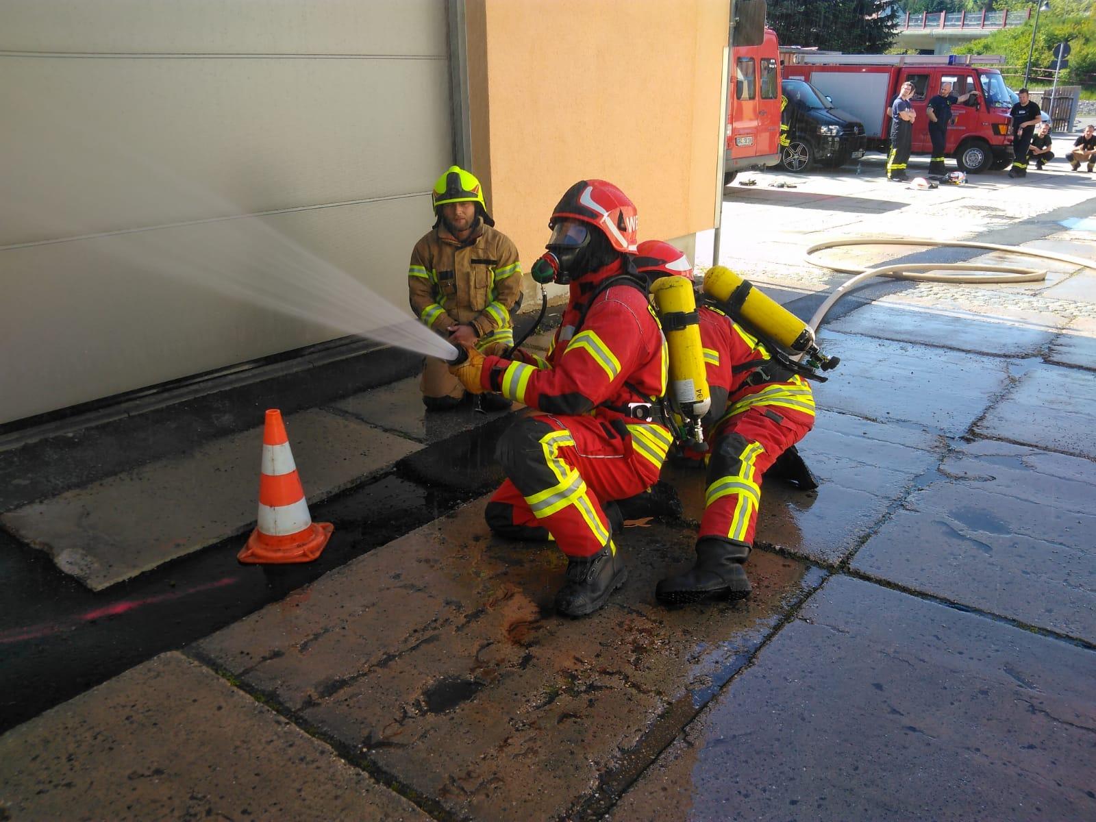 Atemschutz Lehrgang bei der Feuerwehr Weida