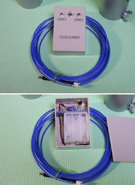 CNQローテーターコントローラと接続ケーブル 2014/4 7L4CNQ製作