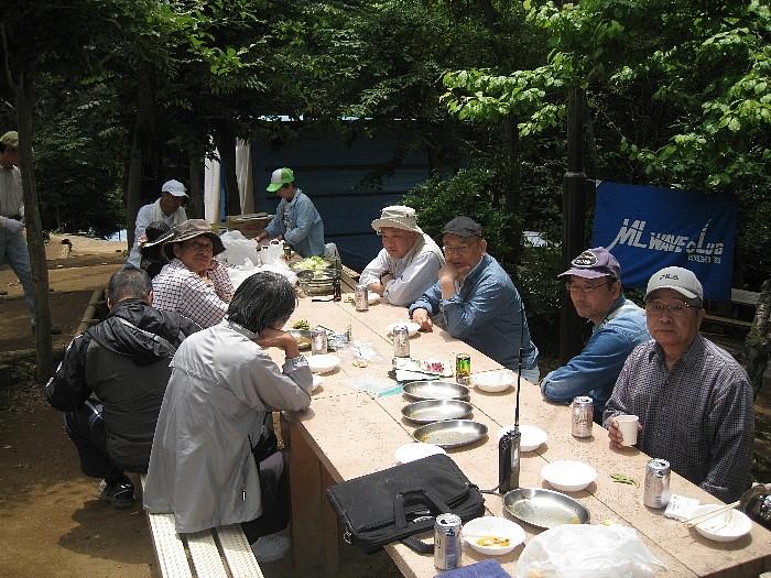 BBQ 2013筑波アイボール大会 青年の家