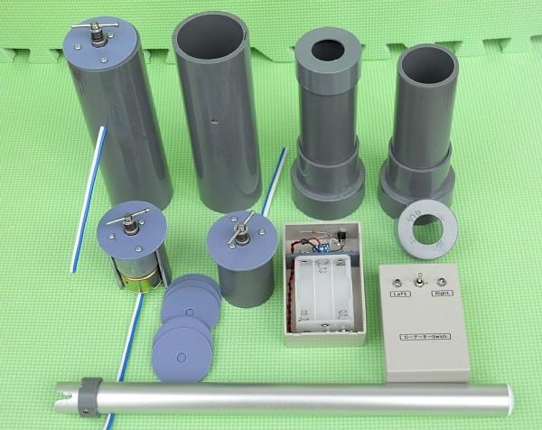 CNQローテーター 製作過程がわかるように 2014/4 7L4CNQ製作